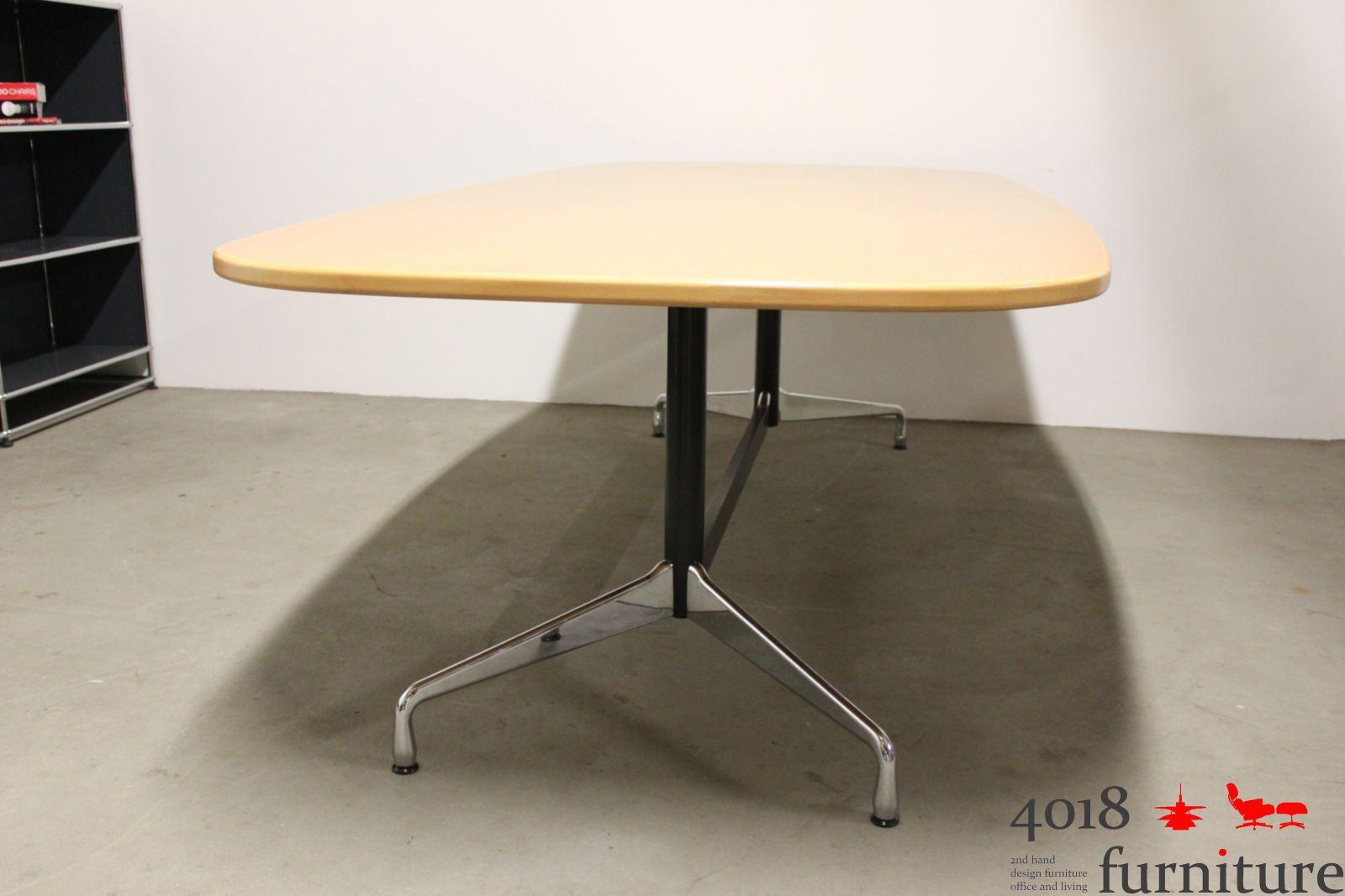vitra charles eames segmented table buche bootsform 240 x 120 cm ebay. Black Bedroom Furniture Sets. Home Design Ideas